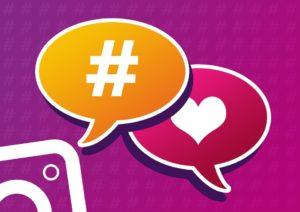 Hashtags para ganhar seguidores no instagram